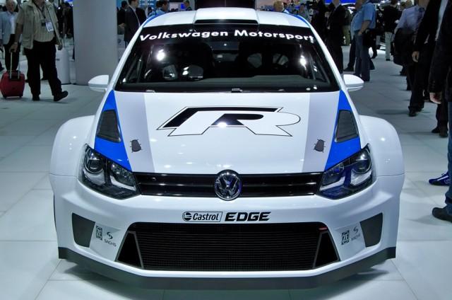 2013 Volkswagen Polo R WRC live photos
