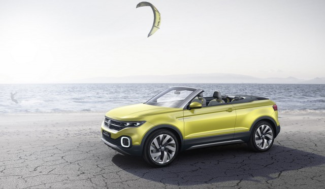 Volkswagen T-Cross Breeze concept, 2016 Geneva Motor Show