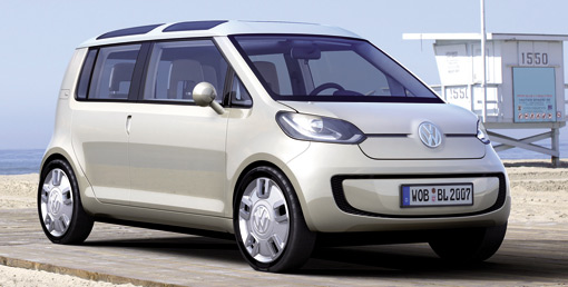Volkswagen unveils space up! blue plug-in hybrid