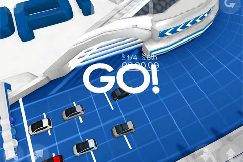 Volkswagen up! Challenge app for iPhone