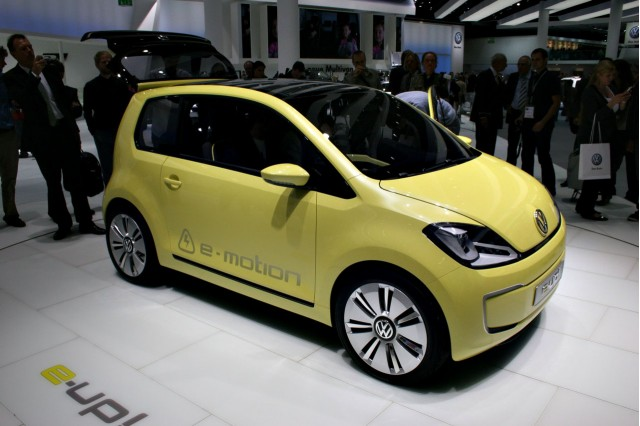 2009 Volkswagen E-up! Concept at the 2009 Frankfurt auto show