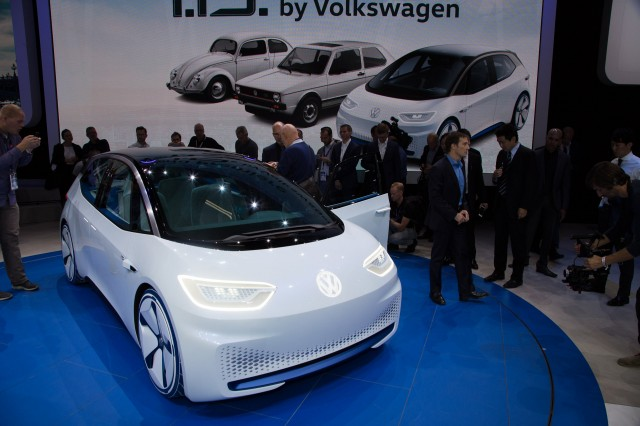 Elegant VW ID Concept To Spawn 300plusmile Electric Hatch In 2020