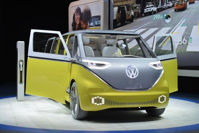 Electric VW bus, diesel arrest, Bolt EV award, 2018 Camry ...