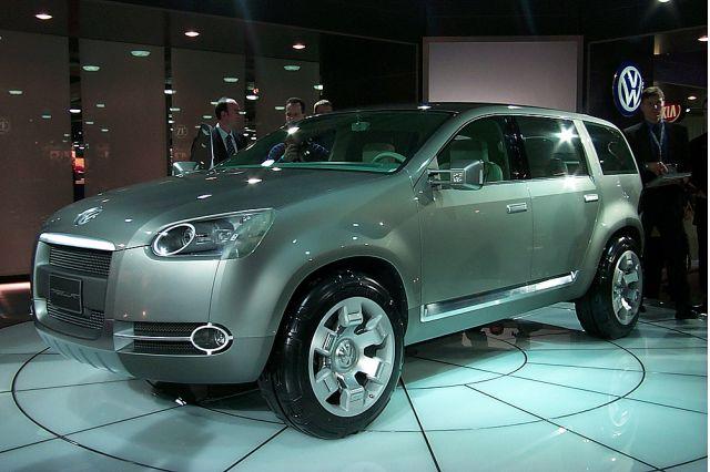 Volkswagen Magellan concept