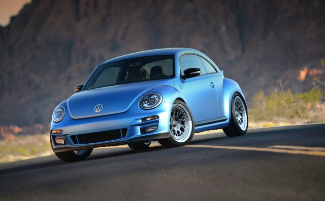 Volkswagen's modified Beetle fleet, 2012 SEMA show
