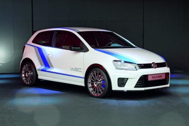Volkswagen's Polo R WRC Street concept.