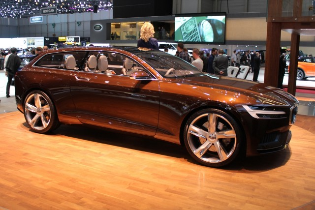 Volvo Concept Estate  -  2014 Geneva Auto Show live photos