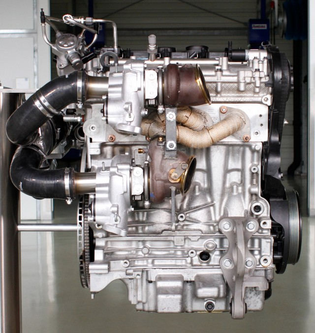 Electric Hybrid Turbocharger: Volvo's Triple-Turbo Four-Cylinder Engine: 450 HP From 2.0