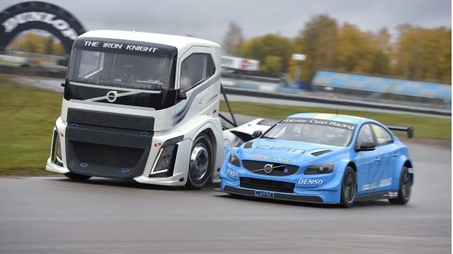 Volvo Trucks  Iron Knight vs. S60 Polestar TC1