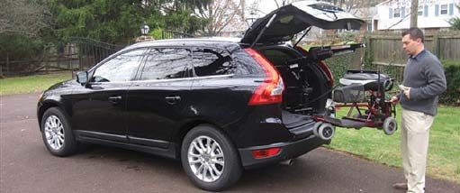 Volvo XC60 - adaptive equipment