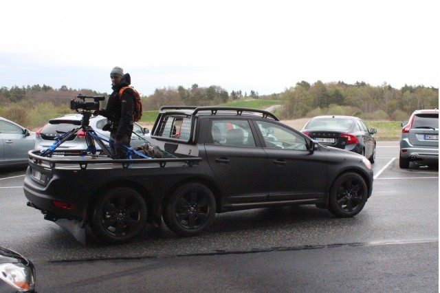 Volvo's Custom XC60 Camera Car
