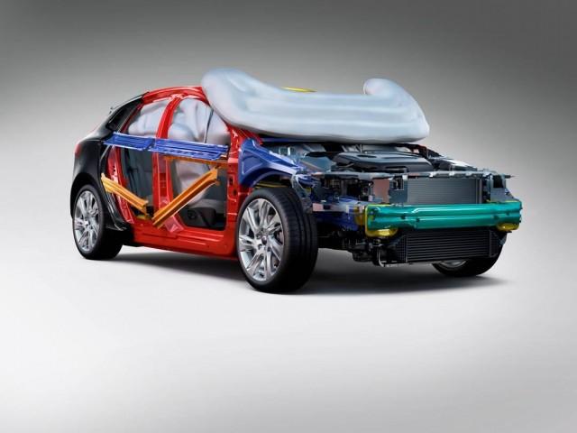 Volvo's Pedestrian Airbag system