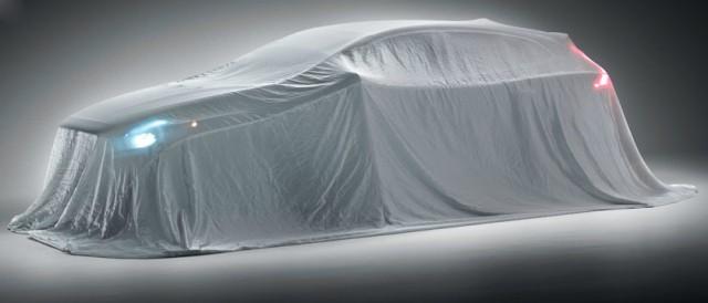 Volvo's upcoming V40 five-door.