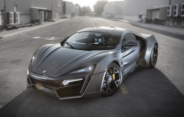 W Motors Lykan Hypersport (Image: James Holm)