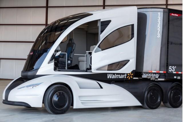 Walmart WAVE concept truck.
