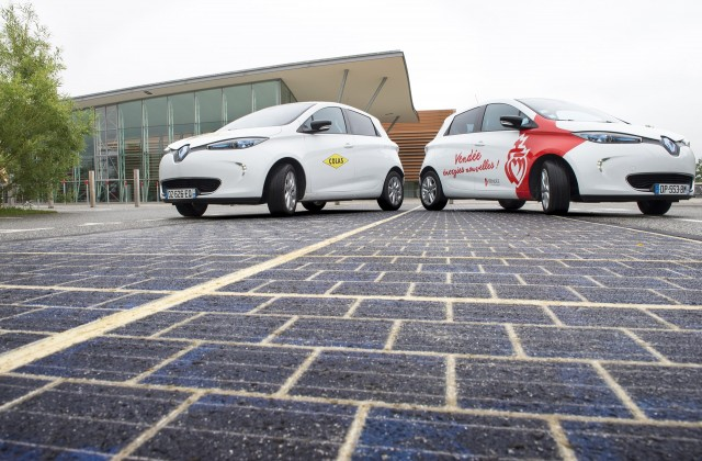 France builds first stretch of solar road at 5 2m per kilometer