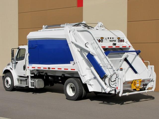 Wayne Engineering garbage truck