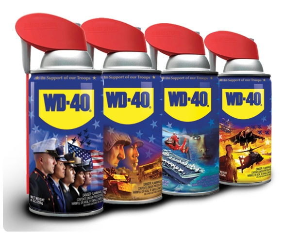 WD-40 Military Collectible Series