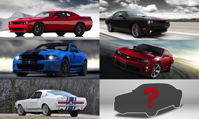 What is your ultimate muscle car?