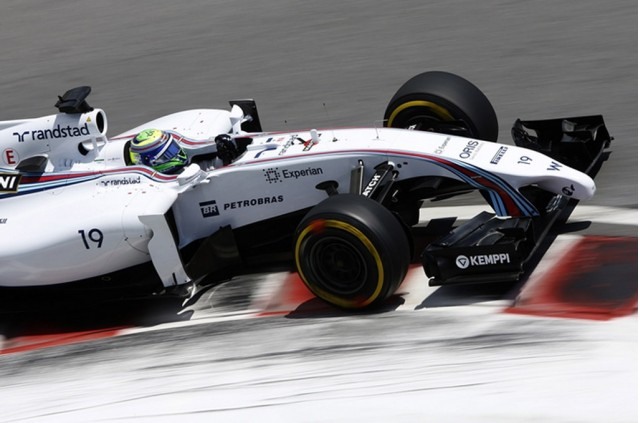 Williams at the 2014 Formula One Austrian Grand Prix