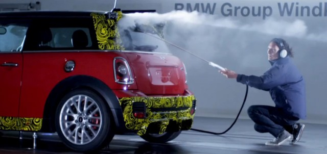 Wind tunnel testing the MINI Cooper John Cooper Works GP