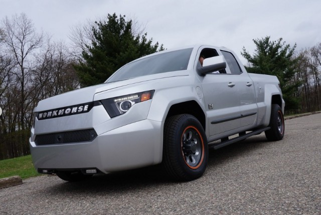 Hybrid Pickup Trucks >> Havelaar Bison all-electric utility truck announced by Canadian company