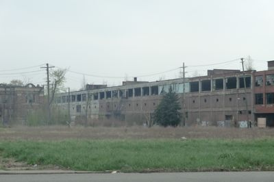 Z World Detroit - abandoned factory