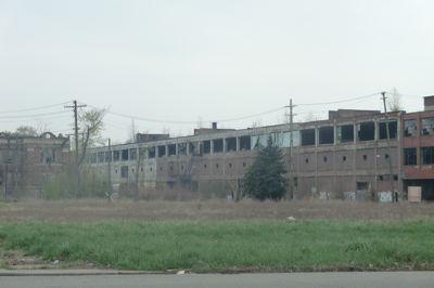 Z World Detroit - abandoned factory