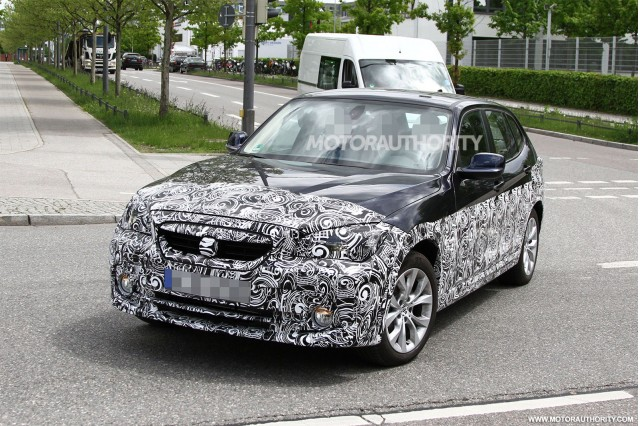 Zinoro crossover prototype based on the BMW X1