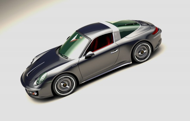 Zolland Design retro conversion for the 991-series Porsche 911