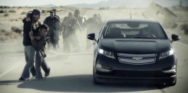 Zombie-Saving Chevrolet Volt
