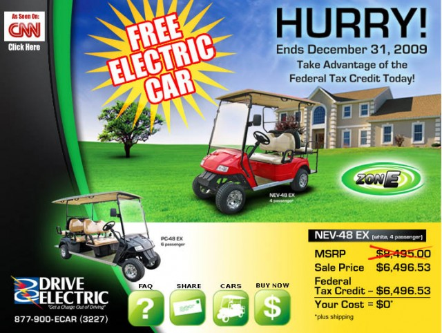 Zone Electric NEV-48 EX Offer