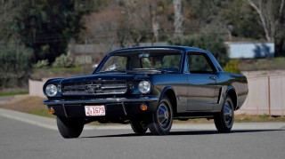First Ford Mustang coupe going under the hammer