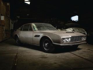 1968 Aston Martin DBS barn find