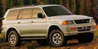 1997 Mitsubishi Montero Sport Photo