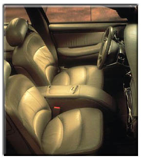 1999 Buick Park Avenue Ultra  interior