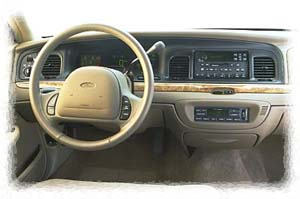 1999 Ford Crown Victoria interior