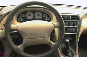 1999 Ford SVT Mustang Cobra interior