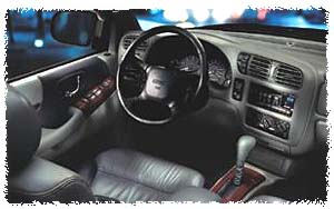 1999 GMC Envoy interior