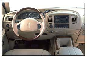 1999 Lincoln Navigator interior