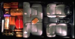 1999 Nissan Pathfinder Interior