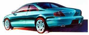 2000 Acura 3.2CL concept