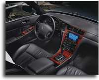 2000 Acura RL interior