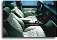 2000 Audi A8 interior