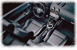 2000 Audi TT interior