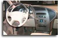 2000 Buick Rendevous concept interior