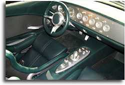 2000 Jaguar F-type concept interior