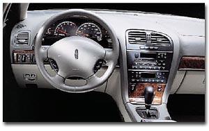 2000 Lincoln LS interior