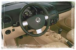 2000 VW 'Super Beetle' 1.8T interior