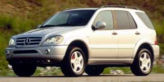 2001 Mercedes-Benz M Class Photo